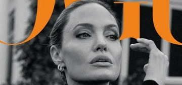 Real question: What kind of chocolate does Angelina Jolie keep in her purse?