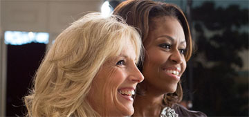 Jill Biden gave Michelle Obama a huge basket of produce from the WH garden