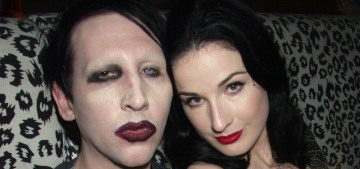 Dita Von Teese says she left Marilyn Manson in 2006 'due to infidelity & drug abuse'