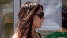 Mel Gibson is worried about Oksana's skinny pregnancy