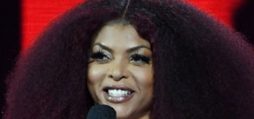 Taraji P Henson: 'Some days I'm in bed by 8, I'm not embarrassed to say that'