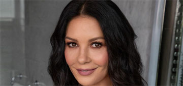 Catherine Zeta-Jones: I would have eye makeup with me if I were stranded on an island