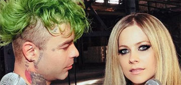 Avril Lavigne's boyfriend, Mod Sun, got her name tattooed on his neck: true love?