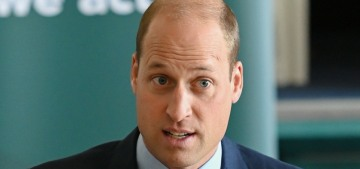 Prince William vows to personally 'stamp out' racist abuse… against footballers