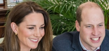 Prince William & Kate zoom'd with an attractive nursing student in Northern Ireland