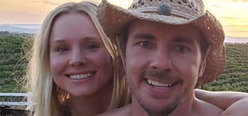 Kristen Bell responds to troll, says she and Dax Shepard 'adore each other'