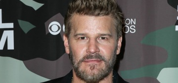 David Boreanaz offers support to Charisma Carpenter & she responded positively