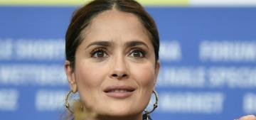 Salma Hayek 'started to sob' when she began filming the love scene in 'Desperado'