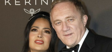 Salma Hayek: It's 'discrimination' to assume all rich white men are terrible