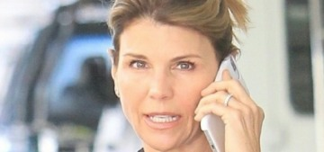 """""""Lori Loughlin is getting her passport back after completing the terms of her plea"""" links"""