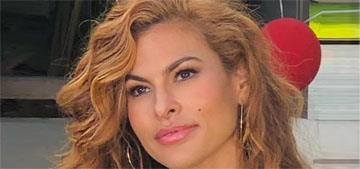 Eva Mendes shares parenting links, says she's in her robe all day