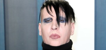 Marilyn Manson is under investigation by the LA County Sheriff's Dept.