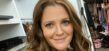 Drew Barrymore: 'I've never done anything to my face & I would like to try not to'