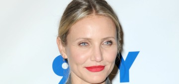 Cameron Diaz can't imagine spending 14 hours on a movie set now that she's a mom