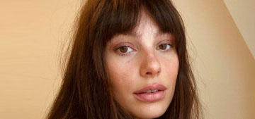"""""""We should probably talk about Camila Morrone's quarantine bangs"""" links"""