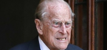 Prince William: Prince Philip 'is okay, they're keeping an eye on him'