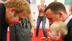Elton John wants to adopt Ukrainian baby (updates: pics & official's denial)