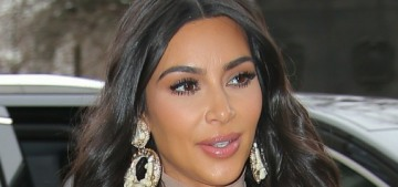 Kim Kardashian keeps going to People Mag to talk about how amazing she is