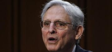 """""""AG Merrick Garland promises to investigate the 1/6 insurrection"""" links"""
