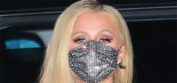 Paris Hilton shows off her (latest) massive engagement ring