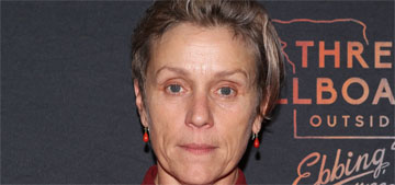 Frances McDormand: 'I made a conscious effort not to do press & publicity for 10 years'