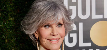 Jane Fonda accepted the Cecil B. DeMille award, called out lack of diversity by the HFP