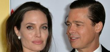 Angelina Jolie sells Brad Pitt's gifted Winston Churchill painting at auction