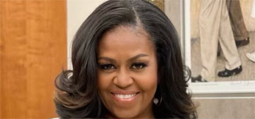 Michelle Obama says she and Barack 'can't get a word in edgewise' with their daughters
