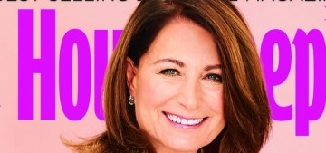 Carole Middleton: 'I'm not someone to sit on the sofa for a long time'