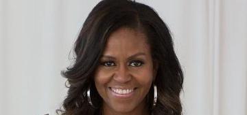 Michelle Obama: Sasha and Malia were baking at night, I told them to stop