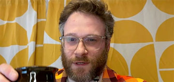 Seth Rogen on why he designed an ashtray: 'I smoke weed all day every day'