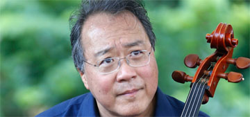 Yo-Yo Ma played a concert at a vaccine clinic as he waited for his second shot