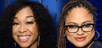 Shonda Rhimes & Ava DuVernay call out the HFPA for rejecting their press conferences
