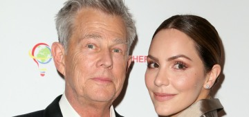 Katharine McPhee & David Foster named their son Rennie David Foster