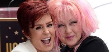 Cyndi Lauper defends friend Sharon Osbourne: 'I do not believe she is racist'