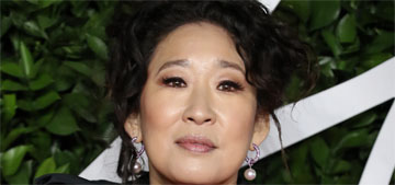 Sandra Oh: 'This is the first time we are even able to voice our fear & anger'