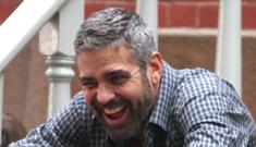 George Clooney installs intruder egg-throwing machine at his estate