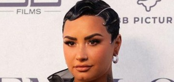 Demi Lovato's 'California sober' label is pissing off sobriety & recovery experts