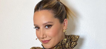 Ashley Tisdale and Christopher French welcomed daughter Jupiter Iris