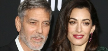 George Clooney says that before he got married & had kids, his life was 'pretty empty'
