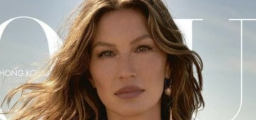 Gisele Bundchen covers Vogue Hong Kong: lovely or Real Housewife of Tampa?