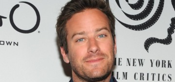 Armie Hammer has been dropped from the only remaining film he was attached to