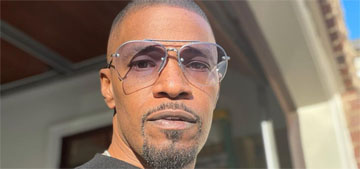 Jamie Foxx on growing older: Muscles don't stay like when you're young