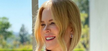 Nicole Kidman wore Armani for the brief SAG Awards: lovely or blah?