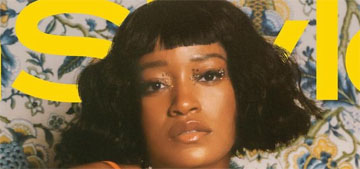 Keke Palmer: 'I'm happy to be alone just vibing with myself'