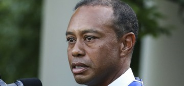 Why isn't Tiger Woods being charged with speeding for his February car crash?