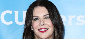 Lauren Graham's dog left her to live on a farm with a dog she loved