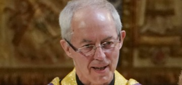 The Archbishop of Canterbury says royal life is 'life without parole,' chaos ensues
