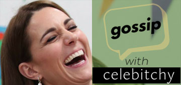 'Gossip with Celebitchy' Podcast #87: Kate and William's PR has diverged