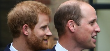Prince Harry & William are expected to stand 'shoulder-to-shoulder' at the funeral